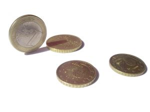 Spanish Euro currency